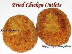 Kerala Fried Chicken Cutlets