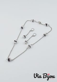 Handmade jewelry and author's models material:Stainless Steel,Plated glass, Magnetic clasps(Bijouterie Alloy) Stainless Steel Plate, Casual Outfits, Handmade Jewelry, Plating, Jewelry Design, Metal, Glass, Silver, Fashion