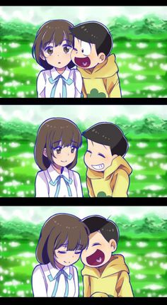 Osomatsu San Doujinshi, Cute Anime Guys, Ichimatsu, Cute Comics, Otaku Anime, Couple Art, Character Design Inspiration, Yandere, Game Character