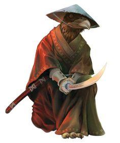 Aarakocra, Portrait, Barbarian, Bard, Cleric (Tempest, War, Death), Fighter, Monk, Ranger, Rogue, Warlock (Pact of the Blade)