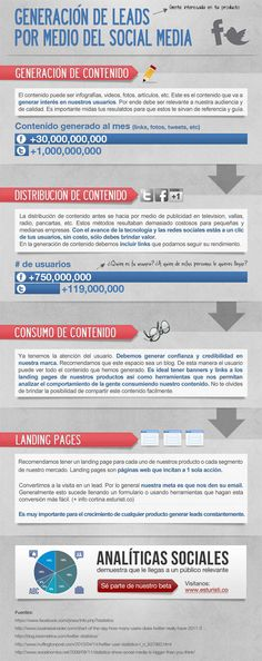 leads infographic