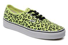 Welcome in my shoesing :) ! #Vans #Leopard #Fluo