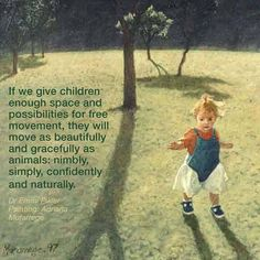 If we give children...