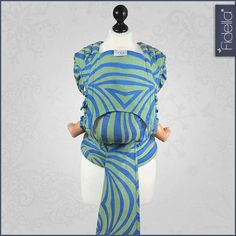 New Size: Fidella FlyTai - MeiTai babycarrier Shebra...