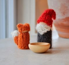 Waldorf ToyThe Tomten and the Fox by thiscosylife on Etsy, $25.00 by aida