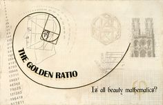 The golden ratio (phi=1.618...) is an irrational number discovered in the time of the ancient Greeks that can be found in many places today, including nature, architecture, and art. It is considered to be the ideal proportions, and is often used in design and marketing.  (Original link) http://www.deviantart.com/art/The-Golden-Ratio-137773209 (Second link) http://www.goldennumber.net/golden-ratio/