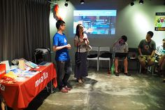 awesome Mozilla Community Space Taipei Party