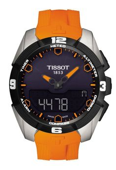 "Tissot T-Touch Expert Solar Watch Released - by Patrick Kansa - Read and see more about it on aBlogtoWatch.com ""We knew it was coming because we saw a prototype, but for 2014 Tissot will finally release the light-powered version of their T-Touch. Earlier in 2013, we brought you a preview of the new T-Touch Expert Solar from Tissot. They've just released the watch now..."" #ABTWBaselworld2014"