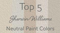53 Super Ideas Exterior Paint Colors For House Sherwin Williams Neutral Best Neutral Paint Colors, Room Paint Colors, Exterior Paint Colors, Paint Colors For Living Room, Paint Colors For Home, House Colors, Bathroom Colors, Wall Colours, Time Stood Still