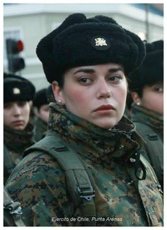 Chile army woman army Related Best Short Hairstyles 2018 - 2019 Unbelievable Photos of Beautiful Girls With And Without Uniform Military Women, Military Female, Chile, Hero World, Hot Cops, Military Girl, Army Uniform, Female Soldier, Armed Forces