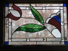 Tulip Stained Glass Window