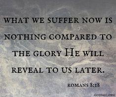Romans 8:18  | Bible Verses