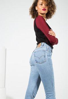 Vintage 80's Levi's Mom Jeans / 0001 / 404