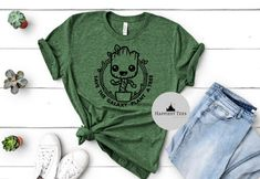 Excited to share the latest addition to my #etsy shop: Groot Save the Galaxy Plant a Tree, Groot Shirt, I am Groot, Guardians of the Galaxy Shirt, Disney Tee, Disney Family, Disney T Shirt, Disney World Shirts, Disney Tees, Disney Shirts For Family, Disney Family, Family Shirts, Groot Guardians, Matching Disney Shirts, Personalized T Shirts, Cricket