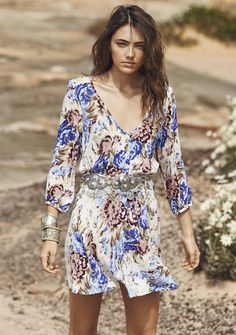 Auguste - The Open Road All Things Good Play Dress Texan Bloom Natural