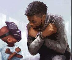Black Panther Marvel, Black Panther Art, Marvel Fan Art, Marvel Heroes, Marvel Avengers, Marvel Comics Art, Dc Super Heros Girl, Black Panther Chadwick Boseman, Black Artwork