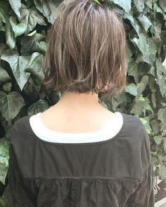 ハイライト 外ハネ ボブ 透明感|NOESALON 祖父江基志 320279【HAIR】 Blue Juice, Hair Setting, About Hair, Bob Hairstyles, Medium Hair Styles, Hair Goals, Hair Inspiration, Stylists, Hair Makeup
