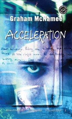 Acceleration by Graham McNamee. A 17-year-old working in the Toronto Transit Authority's Lost and Found comes across a serial killer's diary.
