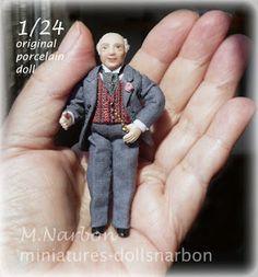 DOLLSNARBON-CATÁLOGO: 1/24 CATÁLOGO MUÑECOS (half scale Porcelain Dolls)