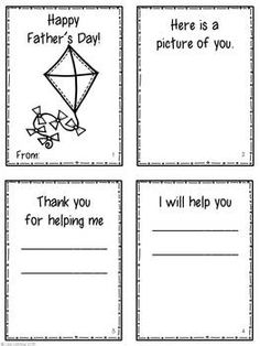Fathers Day Worksheets for Kids. Help children make some fun little pictures for dad this father's day. Make dad smile with father's Day fun! Father's Day Activities, Activity Days, Holiday Activities, Holiday Crafts, Kindergarten Worksheets, Worksheets For Kids, Mother's Day Projects, Father's Day Celebration, Fathers Day Crafts