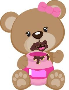 Pin de kitti varga em macik urso marrom, urso bear e urso fofo. 2 Clipart, Cute Clipart, Clipart Images, Urso Bear, Arts And Crafts, Paper Crafts, Baby Shawer, Bear Cartoon, Cute Teddy Bears