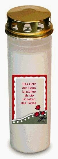 Candle World: Grablichter mit Spruch Mugs, Tableware, Simple, Dinnerware, Tumblers, Tablewares, Mug, Dishes, Place Settings