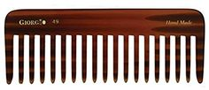 Giorgio Hand Made Flexible Comb 5-1/2' Long (Tortoise G49) * Visit the image link more details.