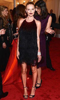 #Met Gala Red Carpet 2012 Photos: #KateBosworth in #Prada...she is looking rail thin