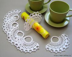 BURNING CANDY is ... THE PRINCESS OF CROCHET: napkin holder