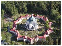 Zelená Hora - Santuario di San Giovanni Nepomuceno