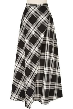 Pretty in Plaid Full Wrap Skirt