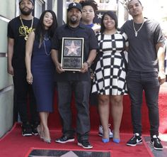 ACKCITY NEWS: Photos: Ice Cube Receives a Star on Hollywood Walk of Fame