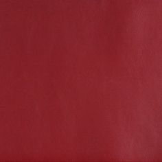 Berry Red Solid Leather Hide Look Vinyl Upholstery Fabric