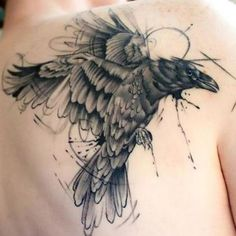 Best Raven Tattoo Idea