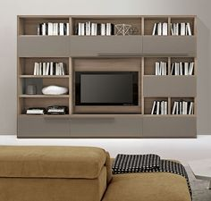 Buy Massa Bookcase for Sale at Deko Exotic Home Accents. Massa bookcase wall unit with clean lines exemplifies exceptional Italian design where form meets functionality.