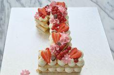 One Year Birthday Cake, Number Birthday Cakes, Fruit Birthday Cake, Number Cakes, Monogram Cake, Torte Cake, Beautiful Birthday Cakes, Birthday Cake Decorating, Diy Cake