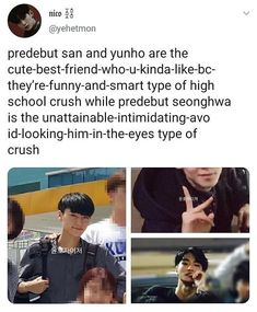 good god was seongwa always this hot? Funny Kpop Memes, Kdrama Memes, Exo Memes, High School Crush, Haha, Jung Yunho, Woo Young, Kim Hongjoong, One Team