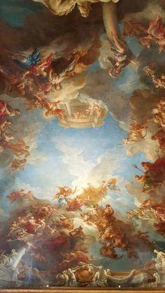 Mme Scherzo — byyishai: François Lemoyne, - The Apotheosis of. Aesthetic Painting, Aesthetic Art, Rennaissance Art, Baroque Art, Baroque Painting, Art Ancien, Renaissance Paintings, Classical Art, Angel Art