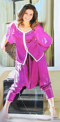 Jabador marocain avec pantalon Aladin