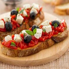 Bruschetta, Vegetable Pizza, Tacos, Food And Drink, Vegetables, Fit, Shape, Vegetable Recipes, Veggie Food