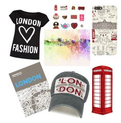 """""""London🇬🇧"""" by emma-rouget ❤ liked on Polyvore featuring jcp, Palomar, Harrods, New Look and Accessorize"""