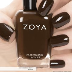 First Look: Zoya Nail Polish in Louise - Fall 2013 Edition