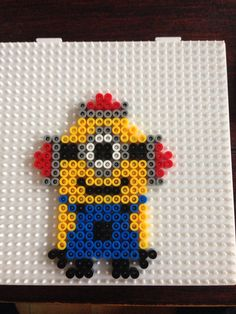 Minion hama perler beads by Dorte Marker