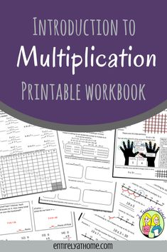 This Printable Multiplication Workbook will walk your kids through strategies for understanding how to multiply! Multiplication Strategies, Teaching Multiplication, Math Strategies, Math Resources, Teaching Math, Multiplication Tables, Math Math, Math Fractions, Math Games