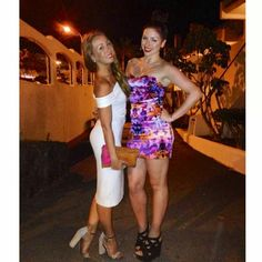 Back in Tenerife on a girls night out!  #dress #fashion #shoes #beautiful #girls #love #cute #handbag #wedges #lipsy #ebay #zara #topshop Check out www.tumblr.com/blog/love30now for more outfit details