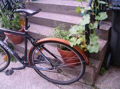 wooden bike fender