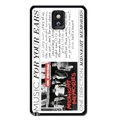one direction 1D midnight memories Samsung Galaxy S3 S4 S5 Note 3 Case