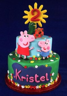 Peppa Pig Cake - Cake by LaDolceVit