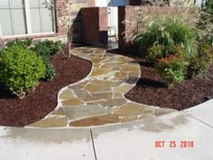 """""""Discover Tips & Techniques On How To Lay Flagstone Just Like A Professional."""""""