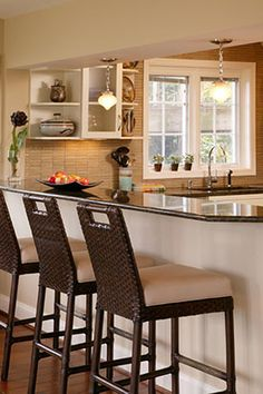 this little breakfast nook is great for a family. you can sit up there and have any meal. this is great to add space if you dont have room for a dining table.